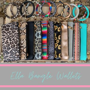 Ella Bracelet Bangle w/ removable Wallet