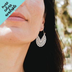 Aubrey Fan Filigree Earrings