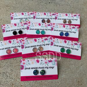 Druzy Earring Thank You Cards - Your Order Made My Day