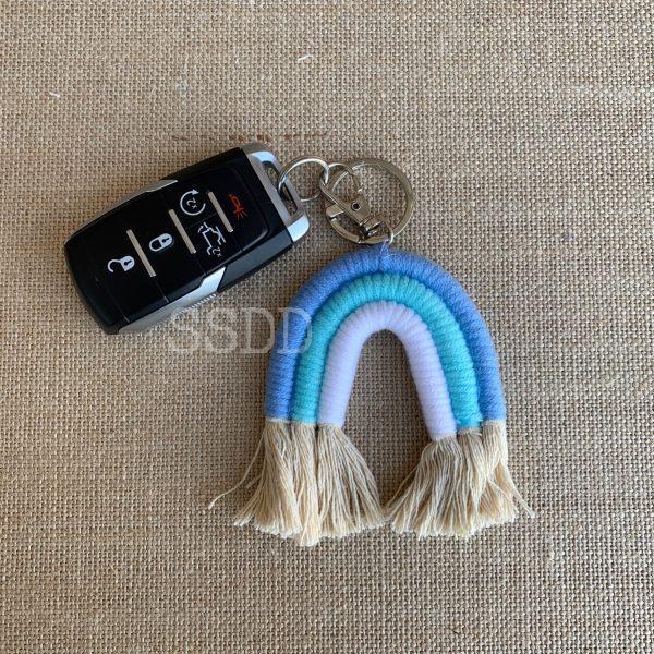 Be a Rainbow Keychain/Car Charm