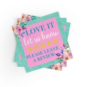Love it Leave A Review Stickers