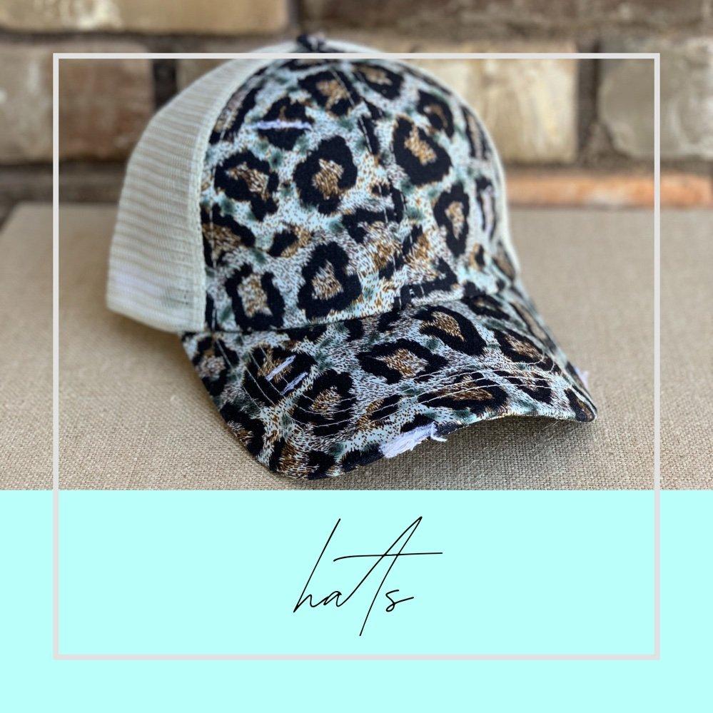 Tamara Tie Dye Ponytail Hat