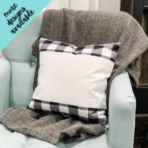 Holiday Buffalo Plaid Pillow Cover