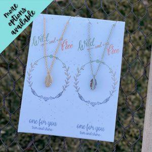 Kelsey Best Friend Necklace Set