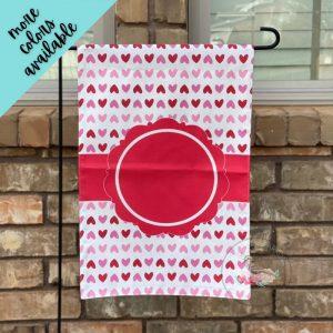 Valentine's Hearts Garden Flag