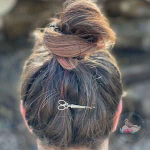 Vintage Scissors Hair Pin
